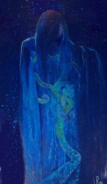dunkler Engel von Raphaela Langenberg
