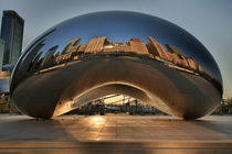 Cloudgate bei Sonnenaufgang, Chicago by geoland