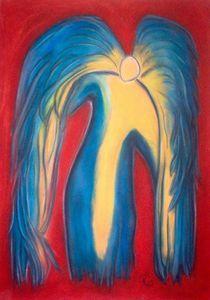 Engel der Kraft von Ramaela Maria Seeliger