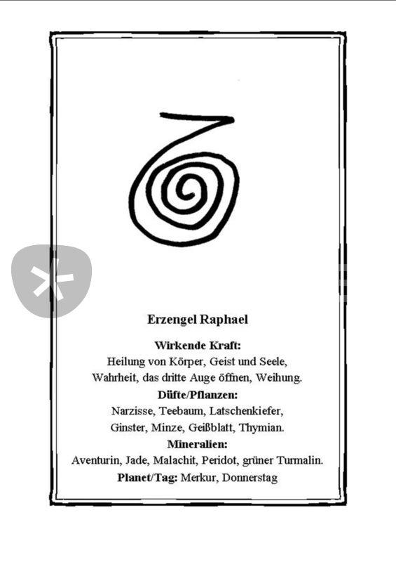 Erzengel Raphael Symbol