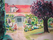 Garten in Giverny - Garden in Givery von Caroline Lembke