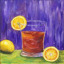 Stillleben mit Zitronen von Caroline Lembke
