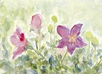 Glockenblumen by Caroline Lembke