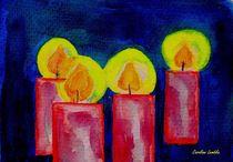 Kerzen im Advent von Caroline Lembke