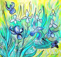 Lilien - Hommage à Van Gogh by Caroline Lembke