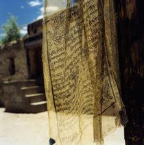 Gebetsfahne Ladakh von Nils Volkmer