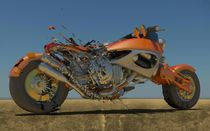 Exploding Bike2 by Chaitanya Krishnan