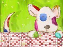 Buntfleckenhund von Anna Eckert