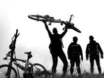 Mountainbiker by Thomas Eckhardt