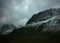 Wolken und Gebirge by mondschwester