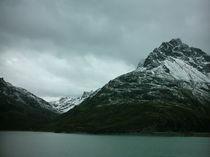 Stausee in Mitten von Bergen by mondschwester