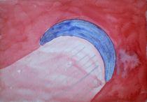 blauer Halbmond im roten Meer von mondschwester
