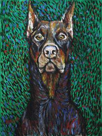 Vincent van Dog The Doberman von Robert Georg Günther