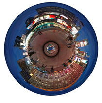 New York  Time Square by Night  P von Michael Hundrieser