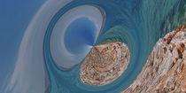 Mittelmeer- Bucht - Alacati von Michael Hundrieser