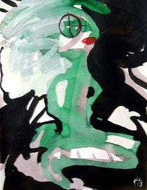 the green lady von Silke Gottschalk