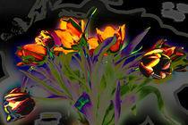 Tulpenstrauss von Manfred Übelbacher
