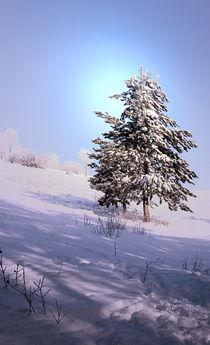 'Winterlandschaft' von Ingrid Clement-Grimmer