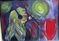 die Sängerin von Brigitte Hohner