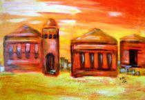 Antike Stadt von Brigitte Hohner