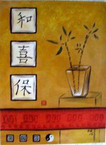 Chinesische Zeichen von Brigitte Hohner