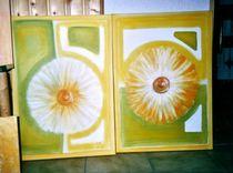 Pusteblumen von Brigitte Hohner
