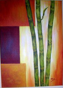 Bambusstäbe  von Brigitte Hohner