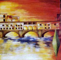 Firence Ponte vecchio von Brigitte Hohner