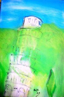 Schiefer Turm von Pisa by Brigitte Hohner