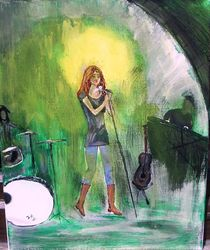 life on stage by Brigitte Hohner