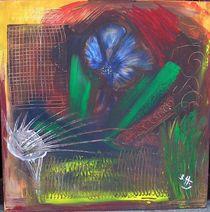 abstrakter Garten von Brigitte Hohner