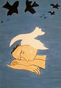 Weiße Tauben  von annas