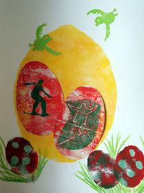 Die Balance halten - Frohe Ostern von annas
