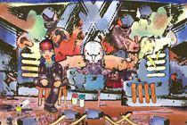Graffiti von Chris Mari