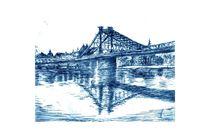 Blaues Wunder (Dresden) von Thomas Bley