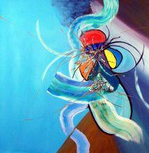 Faun Blau 2 von Kurt Iwanschütz