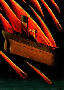 The burning tug by stefano tartarotti