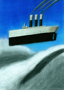 Ship over a cloud by stefano tartarotti