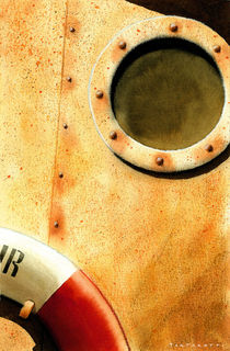 Ship deck detail by stefano tartarotti