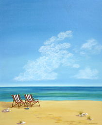 Spuren im Sand von Helga Mosbacher