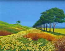 The lonely Pine von Helga Mosbacher