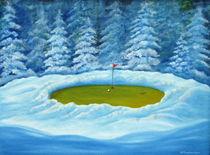 Wintergrün von Helga Mosbacher