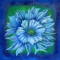 Blaue Sonne von Helga Mosbacher