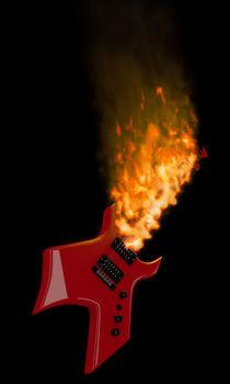 Warlock on Fire by Daniel B Nagy