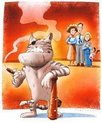 The family-leader cat by stefano tartarotti