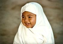 Muslimisches Mädchen, Indonesien by Martin W.
