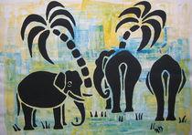 Elefanten in Afrika by Nicole Hempel