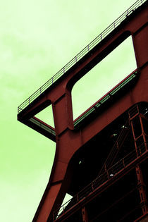 Colors of the World: Grün Zeche Zollverein von Jens Gusek