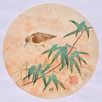 Watender Vogel von Claudia Janßen