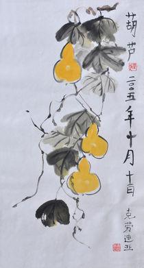 Chinesische Kürbisse von Claudia Janßen
